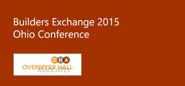 Builders Exchange 2015 Ohio Conference
