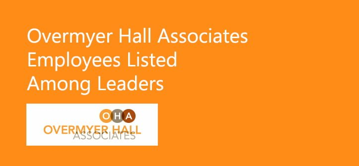 Overmyer Hall Employees Listed Among Leaders