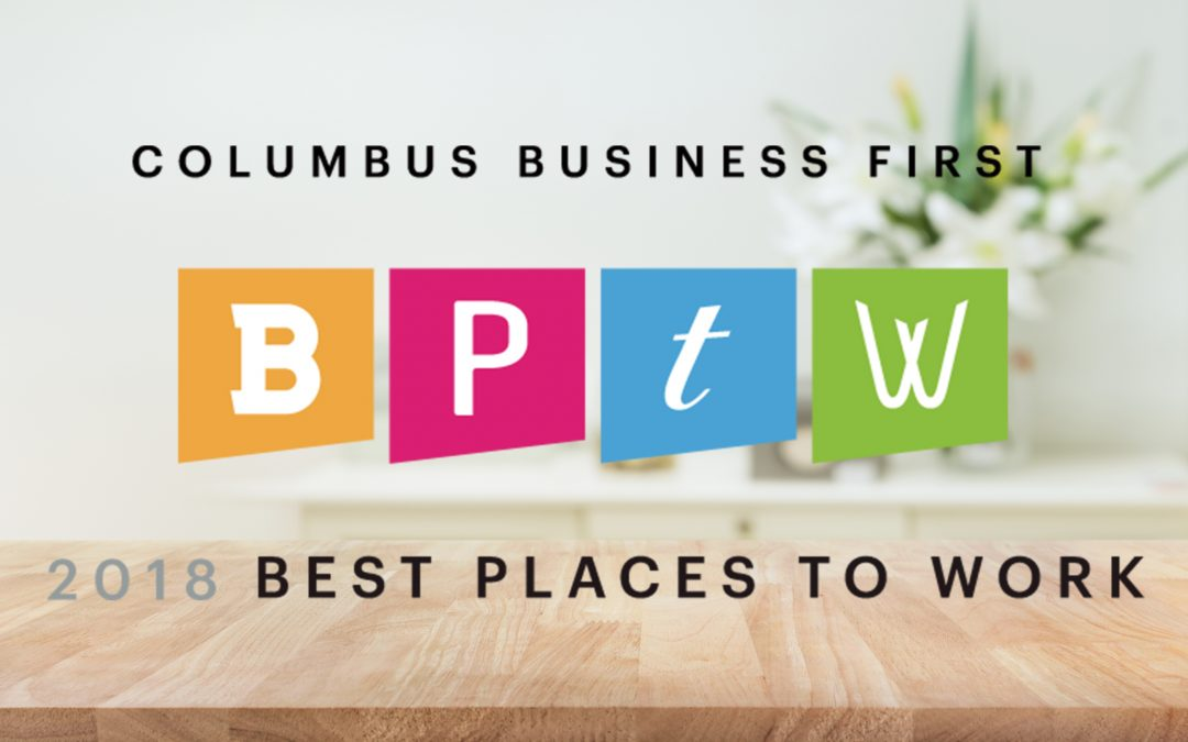 "Overmyer Hall Associates Again a ""Best Places to Work"" Recipient"