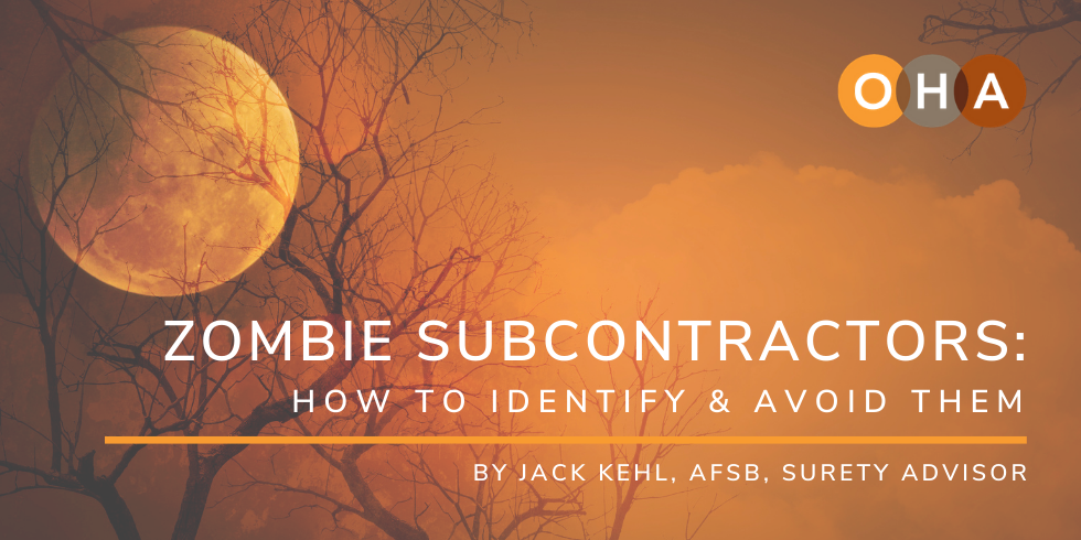 Zombie Subcontractors: How to Identify & Avoid Them